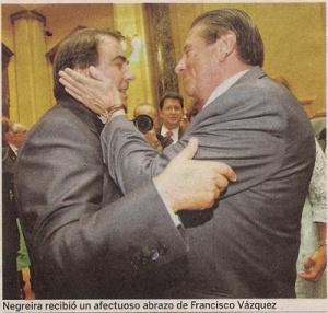 2011-06-12- La Voz de Galicia- Paco Vázquez y Carlos Negreira