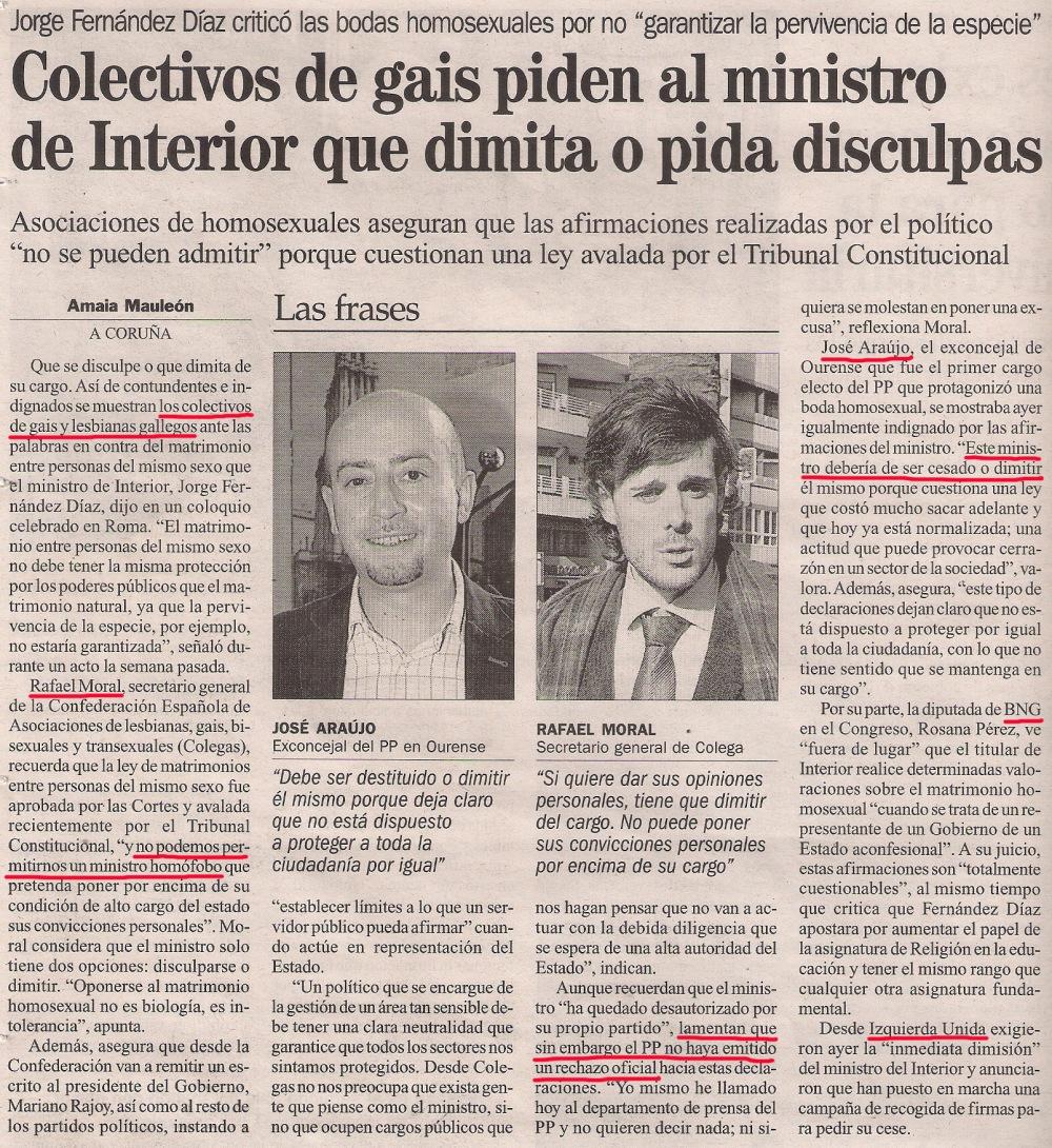 2013-03-05- La Opinión- jorge fernández díaz- rafael moral- José Araujo