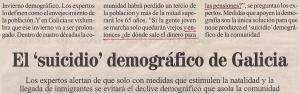 2013-05-12- La Opinión demográfico de Galicia