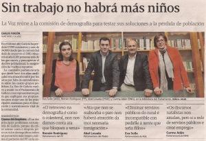 2013-05-12- La Voz de Galicia- Suicidio demográfico de Galicia 1