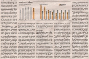2013-05-12- La Voz de Galicia- Suicidio demográfico de Galicia 2