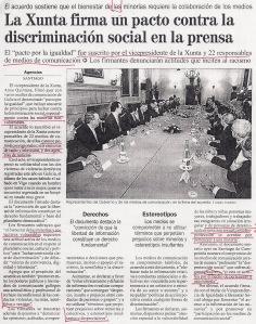 2006-02-07- La Opinión- Anxo Quintana- Campaña Xunta- Homosex