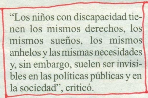 2013-05-31- La Opinión- Rosalía Mera- Abusos a niños con discapacidad 2