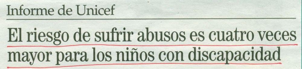 2013-05-31- La Opinión- Rosalía Mera- Abusos a niños con discapacidad 3