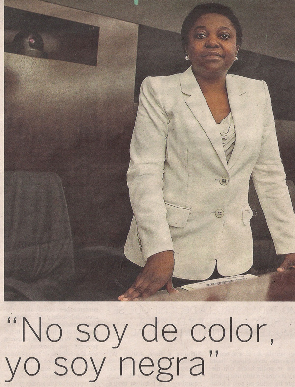 2013-06-08- El País- Cécile Kyenge minstra italiana 0