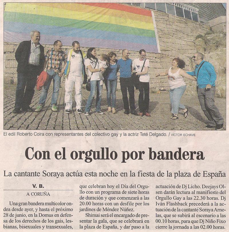 2013-06-14- La Opinión- Fiesta del Día del Orgullo Gay