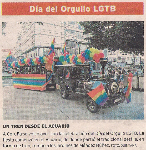 2013-06-15- El Ideal Gallego- Día del Orgullo Gay Coruña- 1