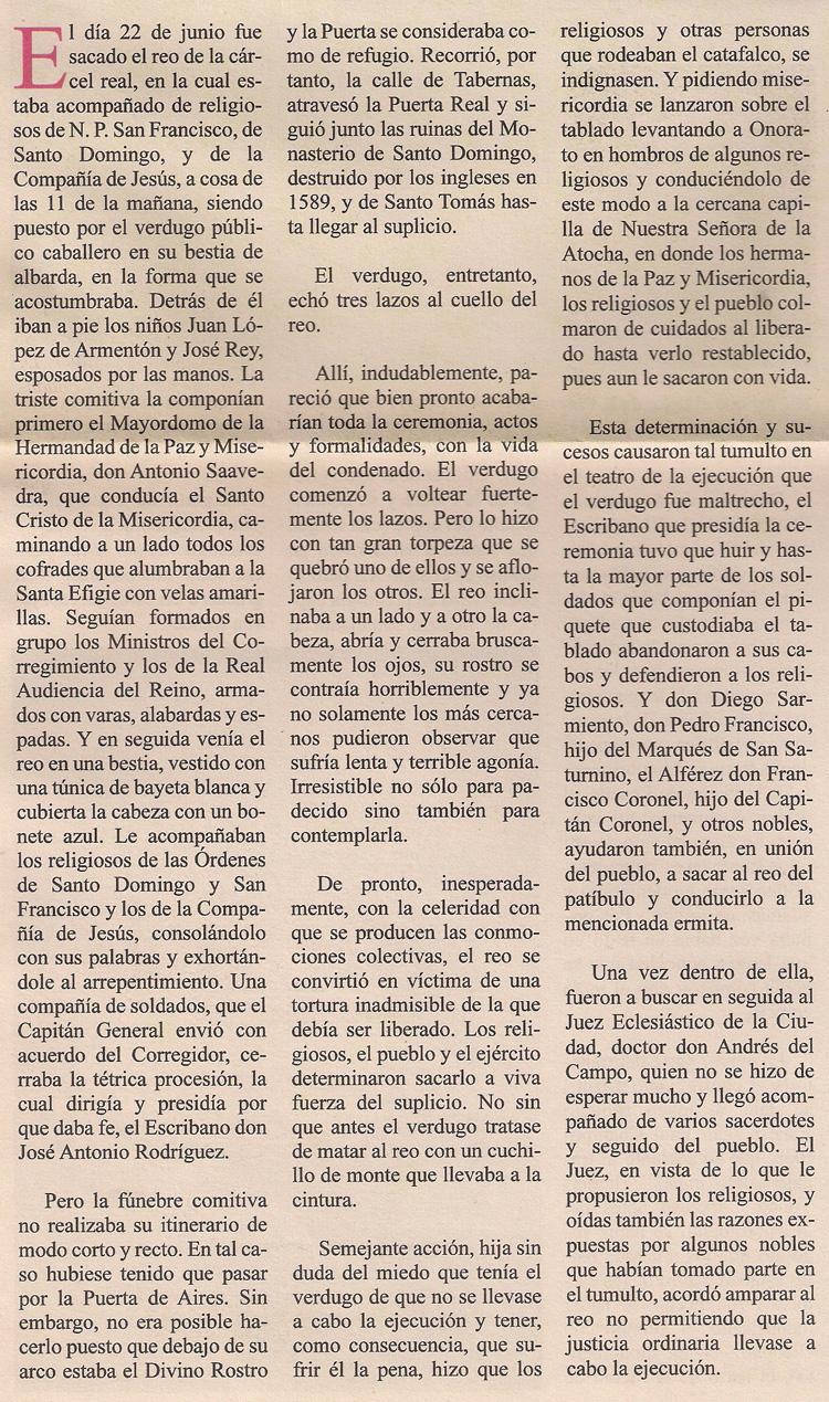 Historia de Onorato Benedito Truque 5