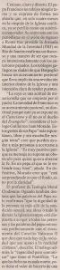 2013-07-31- La Opinión- El papa y los gays- Colectivos 2