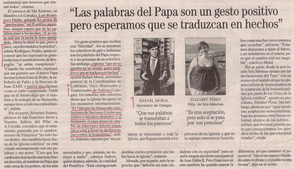 2013-07-31- La Opinión- Encuesta- El papa y los gays 5