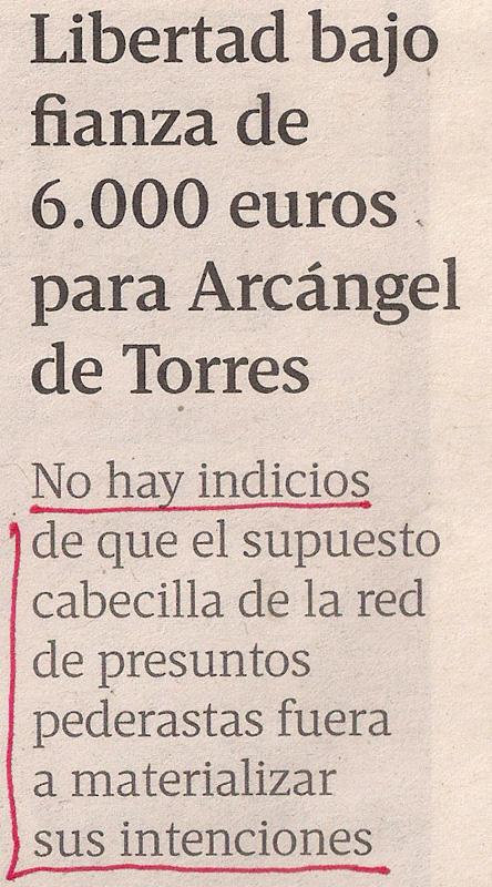 2013-08-08- La Voz de Galicia- Operación Arkangel 1