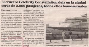 2013-09-10- El Ideal Gallego- Crucero gay en Coruña