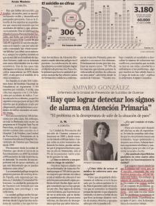 2013-09-10- La Opinión- Suicidios en Galiicia 0