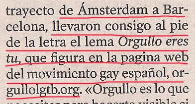 2013-09-10- La Voz de Galicia- Crucero gay en Coruña 2