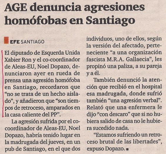 2013-09-18- El Ideal Gallego- Xabier Ron, Noel Dopazo, Esquerda Unida