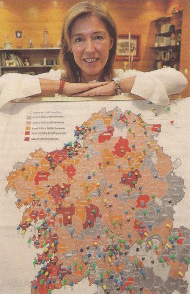 2013-09-29- La Voz de Galicia- Beatriz Mato- Demografía 2
