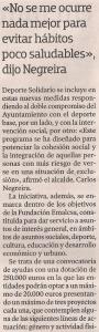2013-10-06- La Voz de Galicia- Deporte Solidario 3