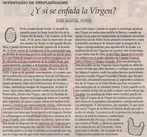 2013-10-08- La Opinión- virgen del rosario contra san juan