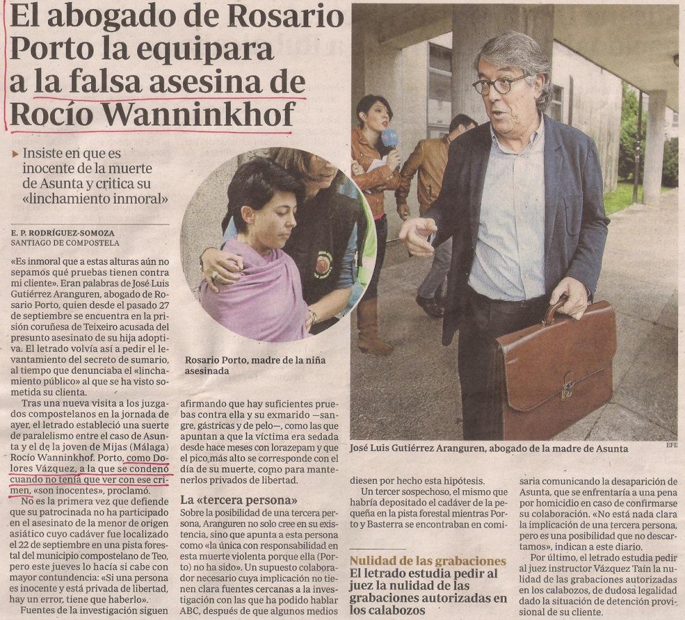 2013-11-01- abc- Casos Asunta Basterra y Rocío Wanninkhof