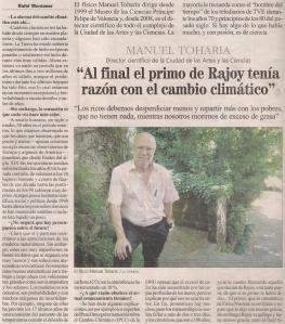 2013-11-08- La Opinión- manuel toharia 1