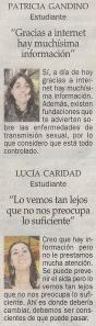2013-11-25- La Opinión- Encuesta - Prevención del sida 2