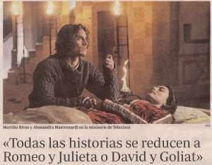 2014-01-21- abc- Martiño Rivas - Romeo y Julieta