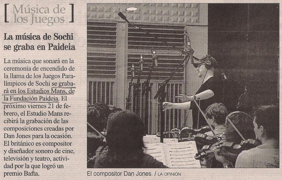 2014-02-00- La Fundación Paideia y Sochi