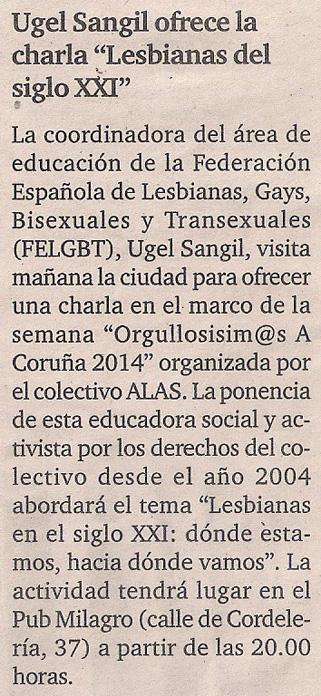 2014-06-26- El Ideal G- Ugel Sangil Casa del Pueblo PSOE