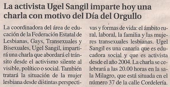 2014-06-26- La Opinión- Ugel Sangil Casa del Pueblo PSOE