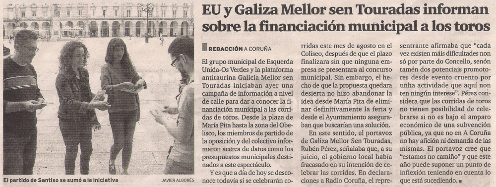 2014-07-09- El Ideal G- Galiza Mellor sen Touradas