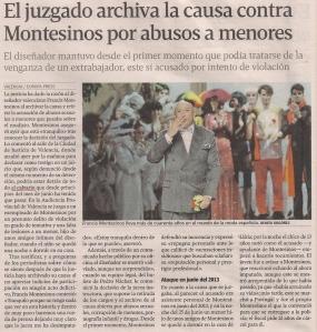 2014-07-25- La Voz de G- Exculpado Montesinos