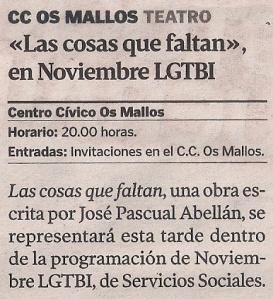 2014-11-21- La Voz de G- Noviembre lgtbi