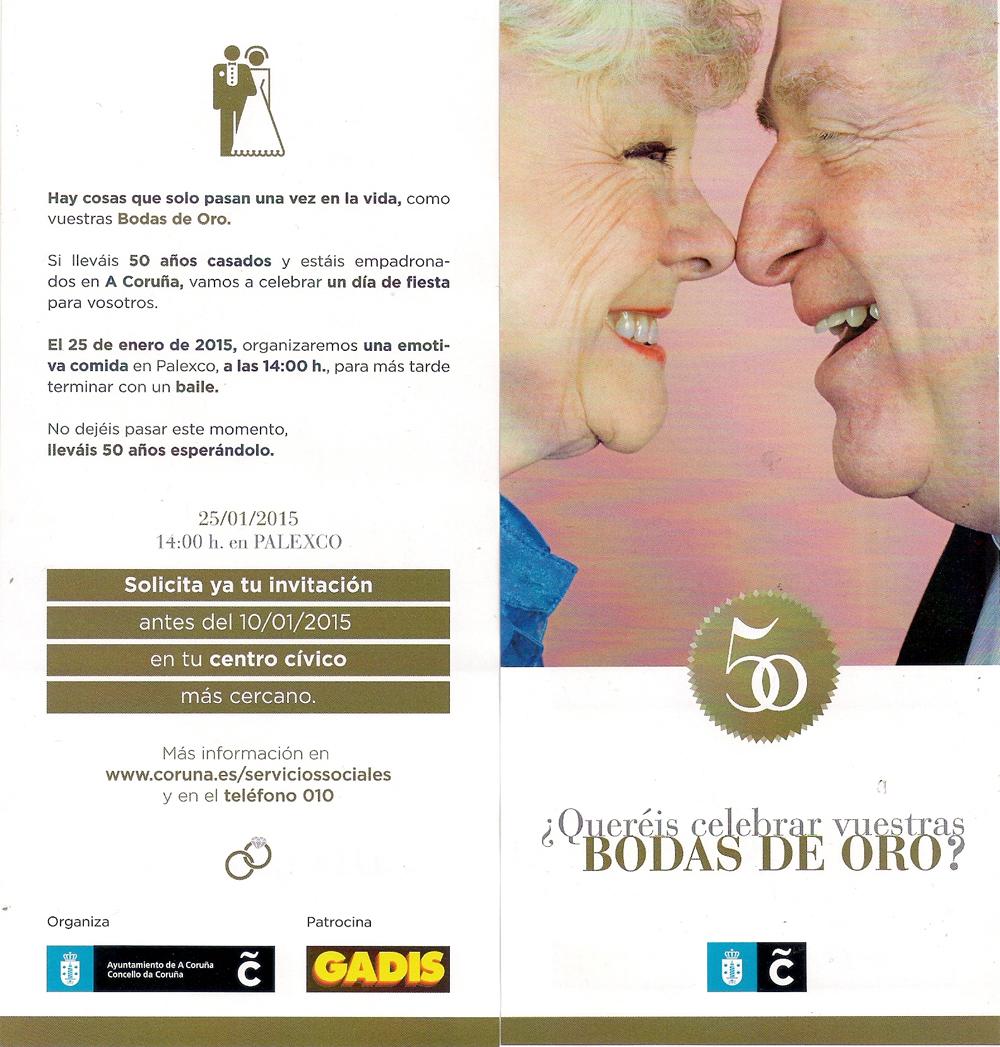 2014-12-00- bodas de oro Coruña Servicios Sociales