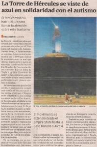 2015-04-02- El Ideal G- Torre de Hércules Autismo