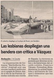 2005-06-05- El Ideal G- Maribolheras Precarias Matrimonio Gay
