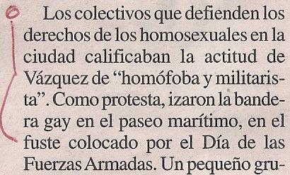 2015-05-31- La Opinión- Matrimonio gay- francisco vázquez 2