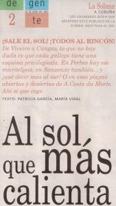 2015-06-20- La Voz de G- Gaupo tomando el sol en La Solana 1