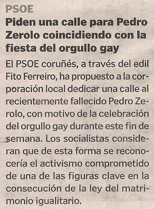 2015-06-25- La Voz de G- Zerolo Fito Ferreriro Calle en Coruña