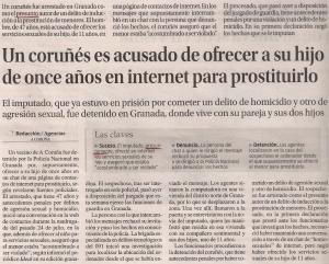 2015-08-18- La Opinión- Detención de un coruñés por broma- Arcángel