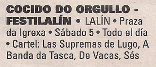 2016-03-04- La Voz de G- Cocido do Orgullo- Lalín