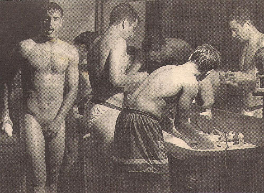 Deportivo de La Coruña- fran gonzález pérez desnudo