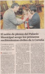 2016-04-03- El Ideal G- Recibimientos Civiles Ayuntamiento Coruña