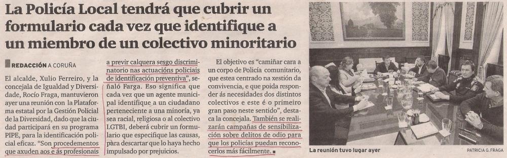 2016-04-09- El Ideal G- Ayto La Marea Policía municipal PIPE