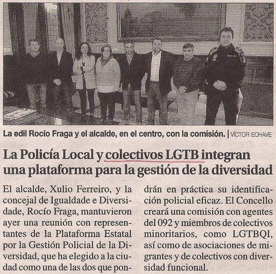 2016-04-09- La Opinión- Ayto La Marea Policía municipal PIPE