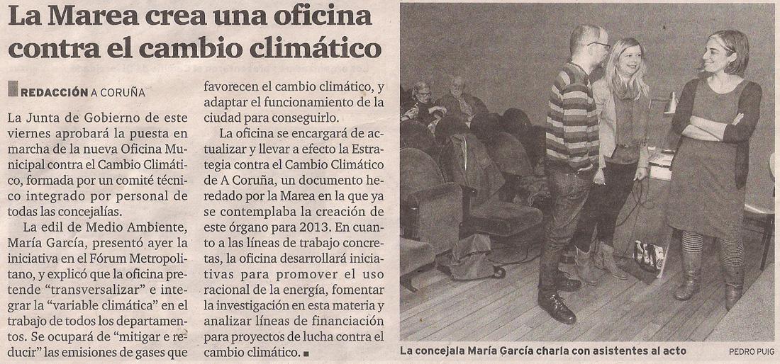 La marea oficina contra el cambio clim tico gayllegos - Oficina espanola de cambio climatico ...