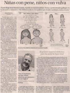 2016-04-22- La Opinión- José Ramón Landa- Transexualidad 1