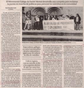 2016-05-27- La Opinión- El suicidio en Galicia- alberte araúxo