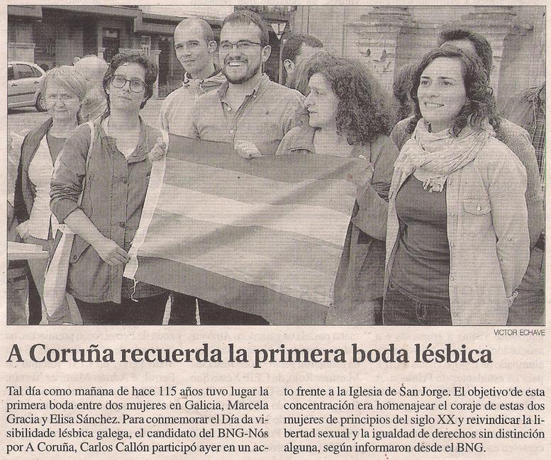 2016-06-07- La Opinión- Carlos Callón - Marcela y Elisa