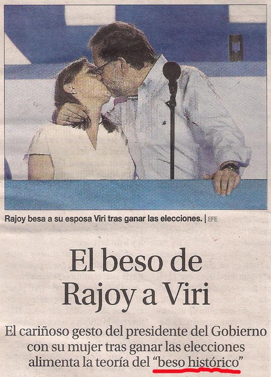 2016-07-03- La Opinión- El beso de rajoy a viri 1