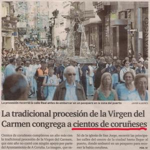 2016-07-17- El Ideal G- procesión virgen del carmen